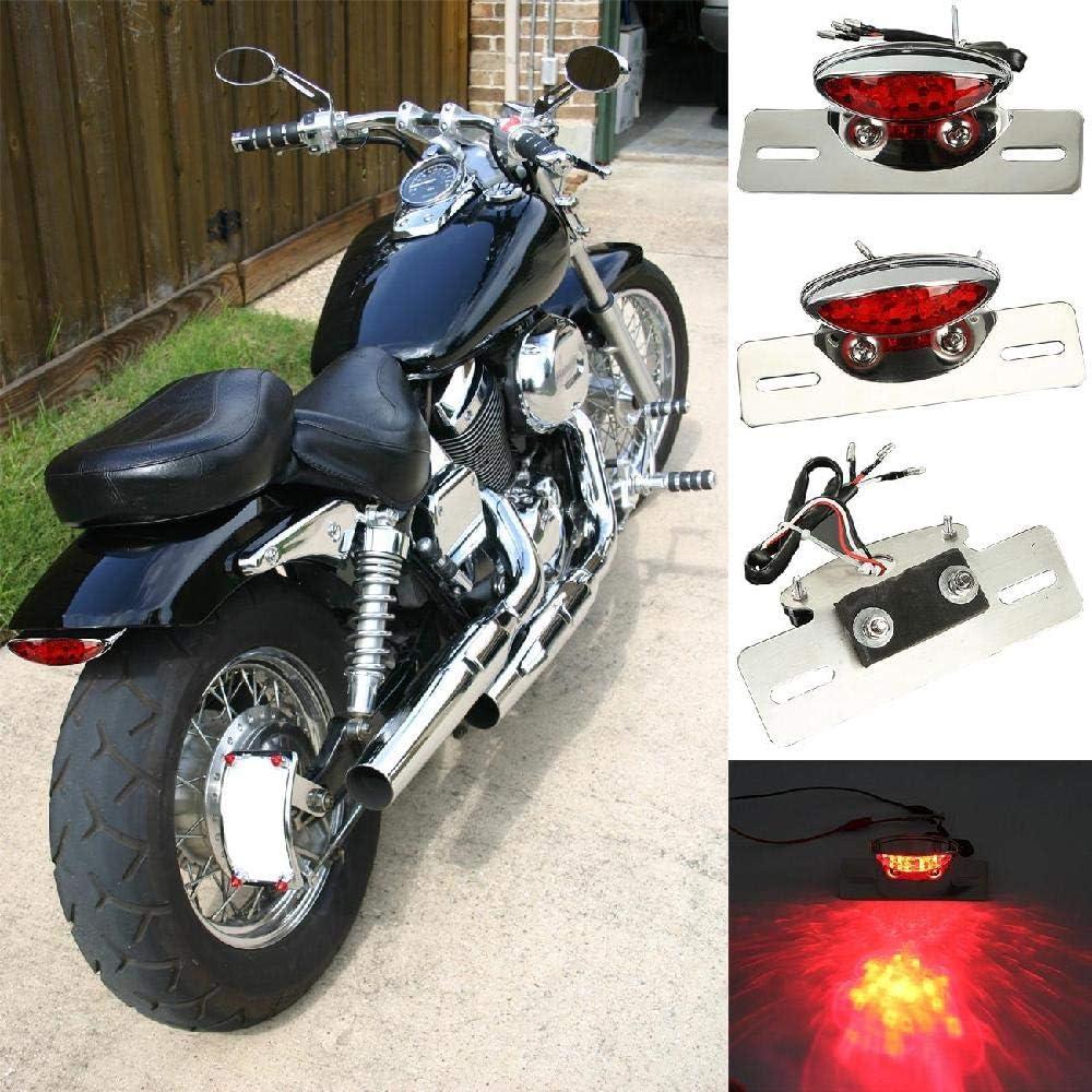 INNOGLOW Motorcycle Brake Light License Plate Light Tail Light ...