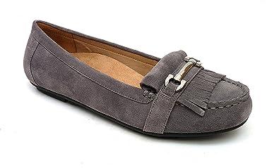 59e08880e Vionic Womens Thina Suede Loafer Flat