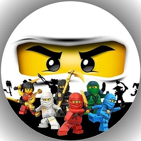 Fondant Tortenaufleger Tortenbild Geburtstag Lego Ninjago T20