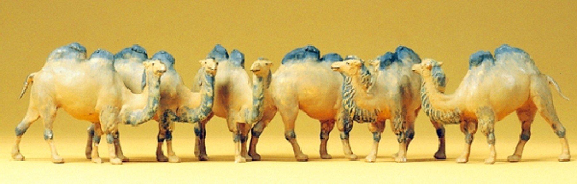 Camels (6) HO Preiser Models