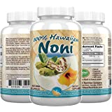 Hawaii Nutrition Company - Noni - 100% Grade A Noni Fruit Capsule - 100 Capsules - Boost Your Immune System, Manage…
