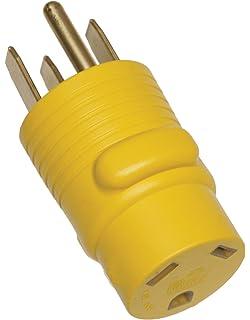 amazon com arcon 14014 round generator power adapter 50 amp arcon 14018 round generator power adapter 30 amp female to 50 amp male