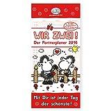 Sheepworld Partnerplaner für zwei 2016 mit 200 Stickern