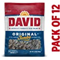 12-Pack David Seeds 5.25oz Roasted & Salted Original Jumbo Sunflower Seeds