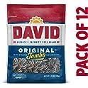 12-Pack David Seeds Jumbo Sunflower Original, 5.25 Ounce
