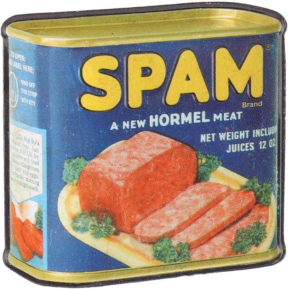 "Hormel Spam and Eggs Rustic Retro Metal Sign 8/"" x 12/"""