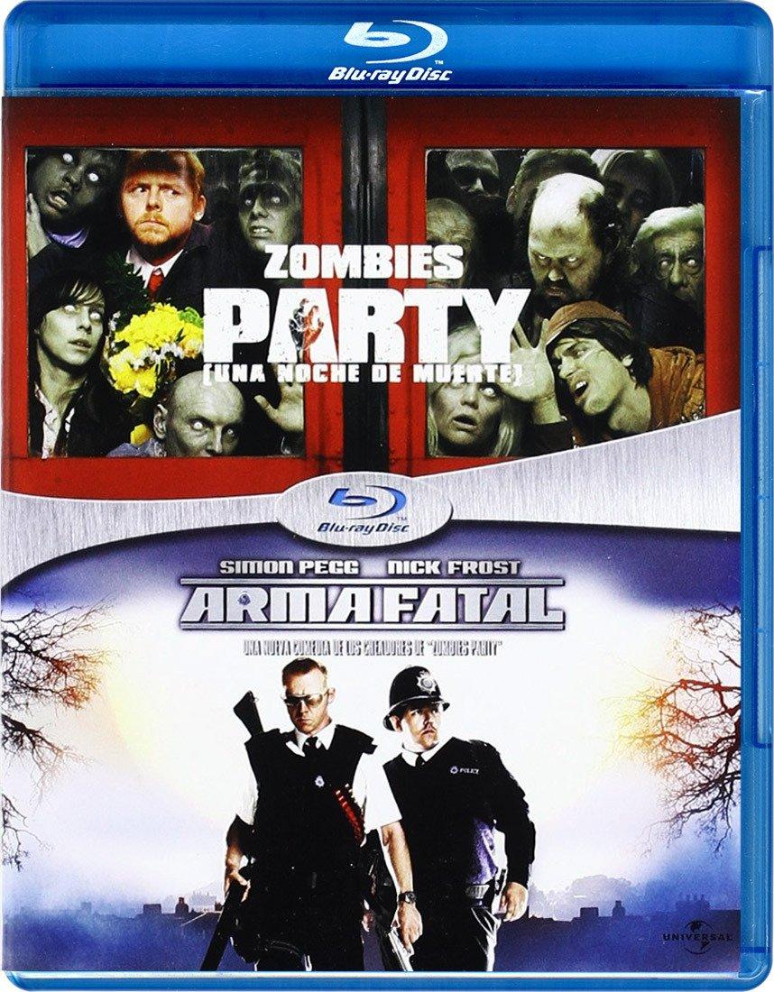 Pack: Zombies Party + Arma Fatal [Blu-ray]: Amazon.es: Simon Pegg, Kate Ashfield, Nick Frost, Dylan Moran, Lucy Davis, Bill Nighy, Penelope Wilton, Jessica Stevenson, Jim Broadbent, Timothy Dalton, Paddy Considine, Steve Coogan,
