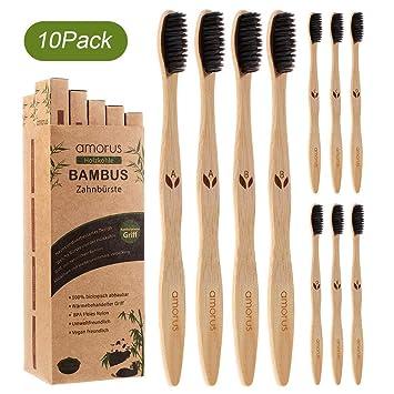 Amazon.com: Amorus 10 unidades de cepillo de dientes de ...