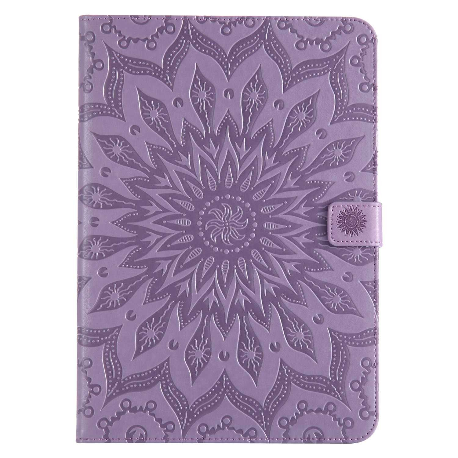 Bear Village Galaxy Tab a 9.7 Inch Case, Anti Scratch Shell with Adjust Stand, Full Body Protective Cover for Samsung Galaxy Tab a 9.7 Inch, Purple