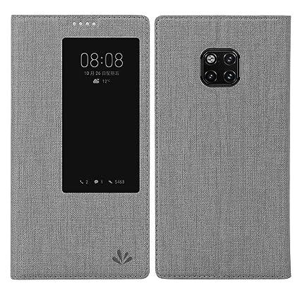 Eastcoo Huawei Mate 20 pro Hülle, Premium PU Leder Smart Flip Case Tasche Schutzhülle Handyhülle mit [Wake up][Standfunktion]