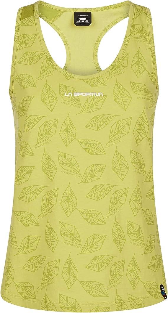 La Sportiva Leaf Tank W Camiseta Mujer: Amazon.es: Ropa y ...