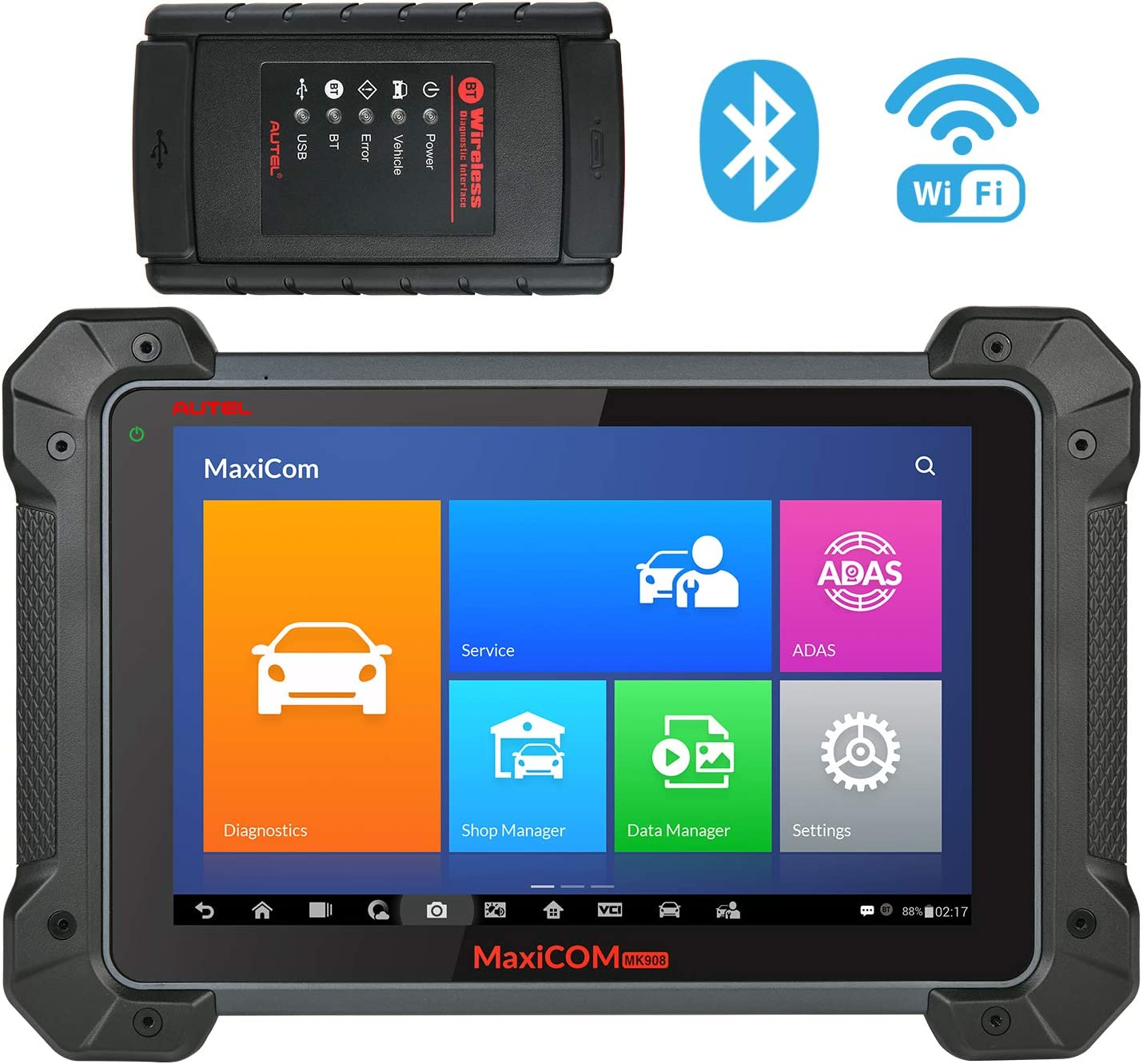 Automotive Scan Tool >> Autel Maxicom Mk908 Ultimate Automotive Diagnostic Scan Tool With Adas Ecu Coding Full Bi Directional Control Abs Brake Bleed Oe Level All Systems