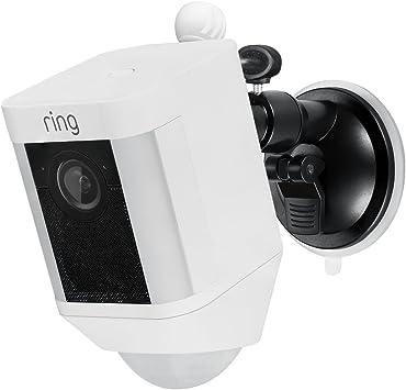 Metal Mount Ring Spotlight Cam Battery Adjustable Indoor Outdoor Security Mount