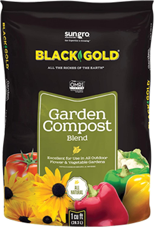 Black Gold Garden Compost Blend, 1 CF