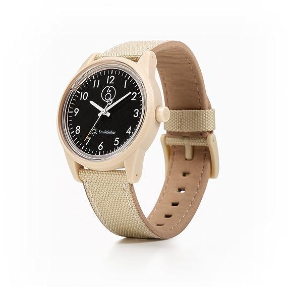 SMILE SOLAR. Reloj de cuarzo, impermeable, sin cambios de pila (carga solar). RP08J002Y: Amazon.es: Relojes
