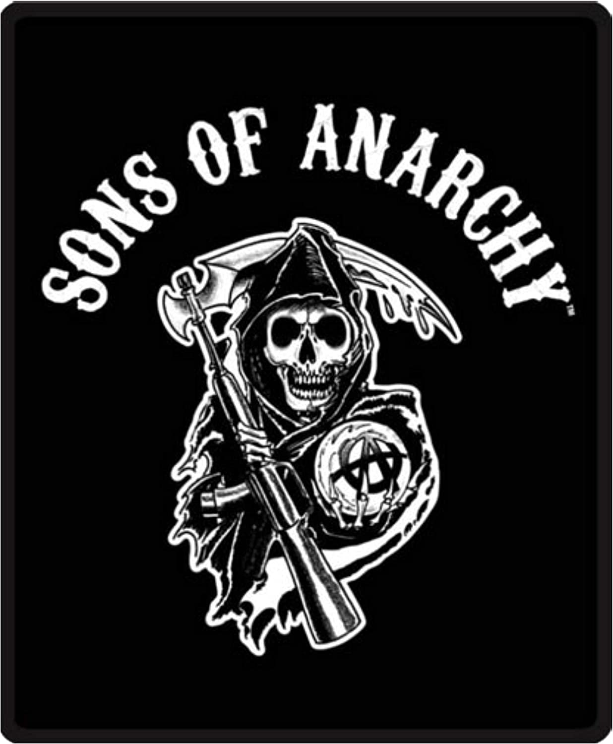 Sons Of Anarchy King Size Luxury Plush Mink Blanket 84 X94 Blankets Throws Jagattv Home Garden