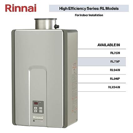 Amazon.com: rinnai rl75ilp toda la casa interior líquido ...