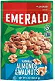 Emerald Natural Walnuts and Almonds, Resealable Bag, 5 Ounce