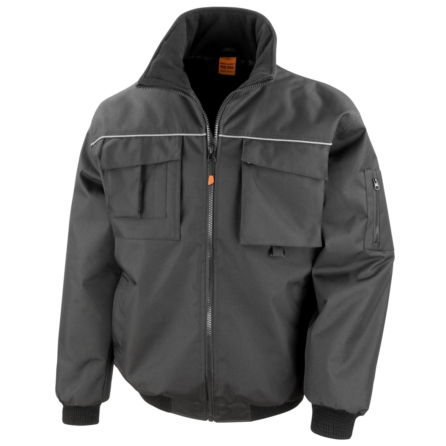 Result Work-Guard Work-guard sabre pilot jacket Black S