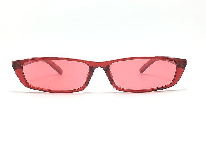 Optica Vision-Specs gafas de sol rectangular alargadas, Es ...