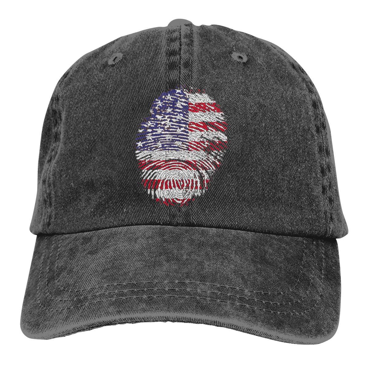 United States Unisex Custom Cowboy Hat Casquette Adjustable Baseball Cap