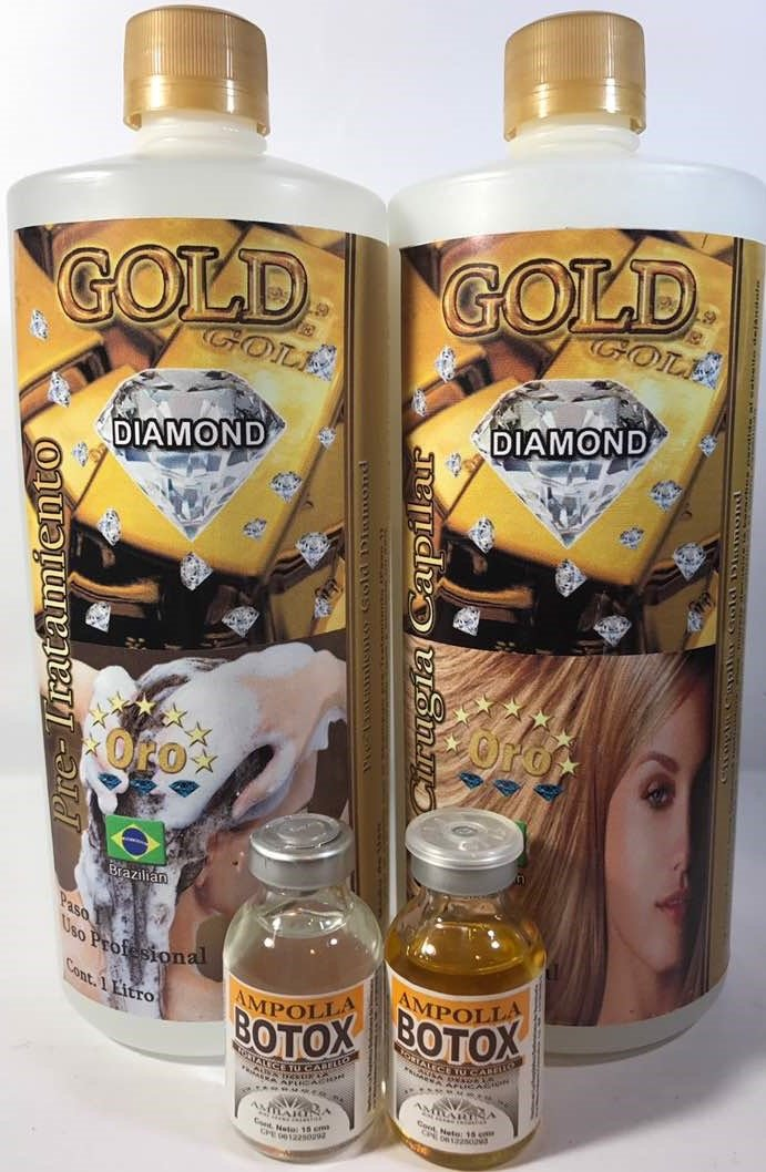 Amazon.com : Cirugía Capilar Diamond Gold 1 liter (Shampoo-Treatment) : Everything Else