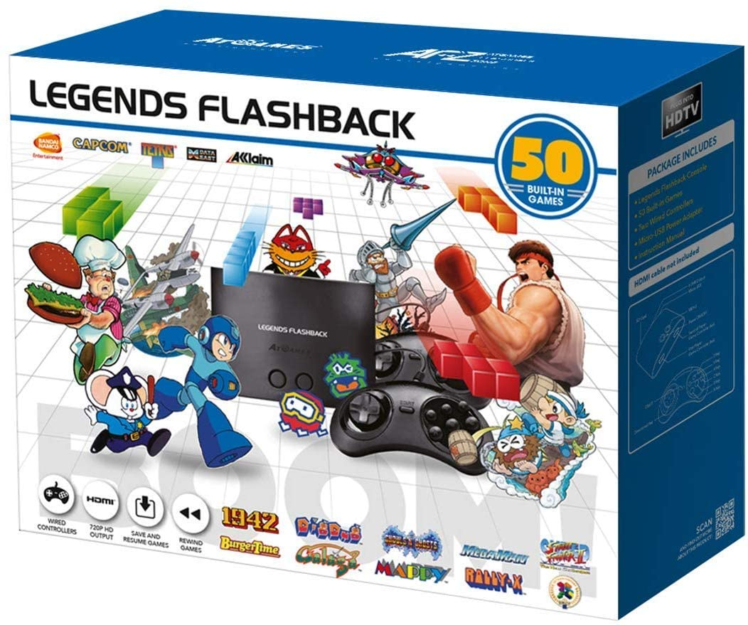 Amazon.com: At Games Legends Flashback Boom!: Video Games