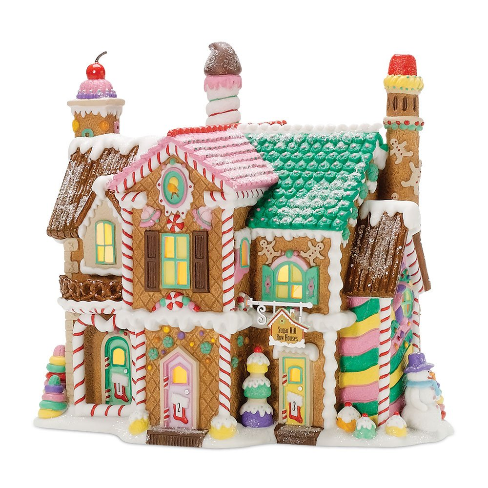 Department 56 North Pole Village Sugar Hill Row Houses 56.56961