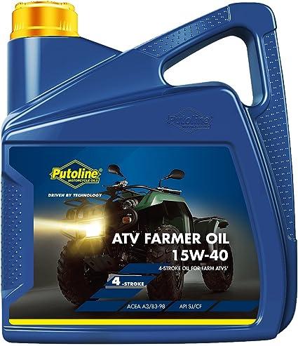 Aceite 4takt Putoline 15 W40 4 litros. Quad Farmer Oil sintético: Amazon.es: Coche y moto