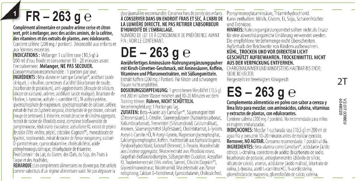 BSN NO Xplode XE Edge Pre-Entreno, Manzana Verde - 263 g: Amazon.es: Salud y cuidado personal