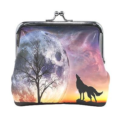 Amazon.com: Noche de Luna wozo Wolf de microfibras de mini ...