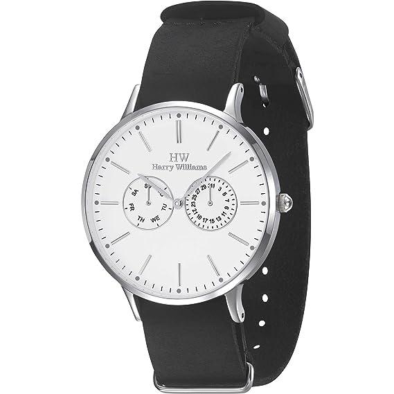 6ac2a1c546c0 Harry Williams multifunción Reloj deportivo para hombre modelo HW-2402J 01   Amazon.es  Relojes