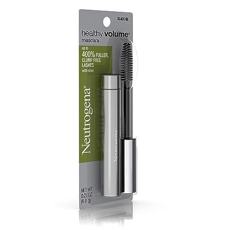 7f399e6dbba Amazon.com : Neutrogena Healthy Volume Mascara, Black 02, 0.21 Oz. (Pack of  2) : Beauty