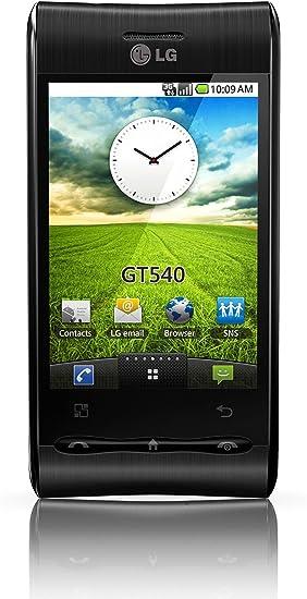 LG GT540 - Smartphone Libre Android (130 MB de Capacidad, S.O. ...