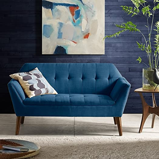 INK IVY Newport Accent Armchair-Solid Wood Frame