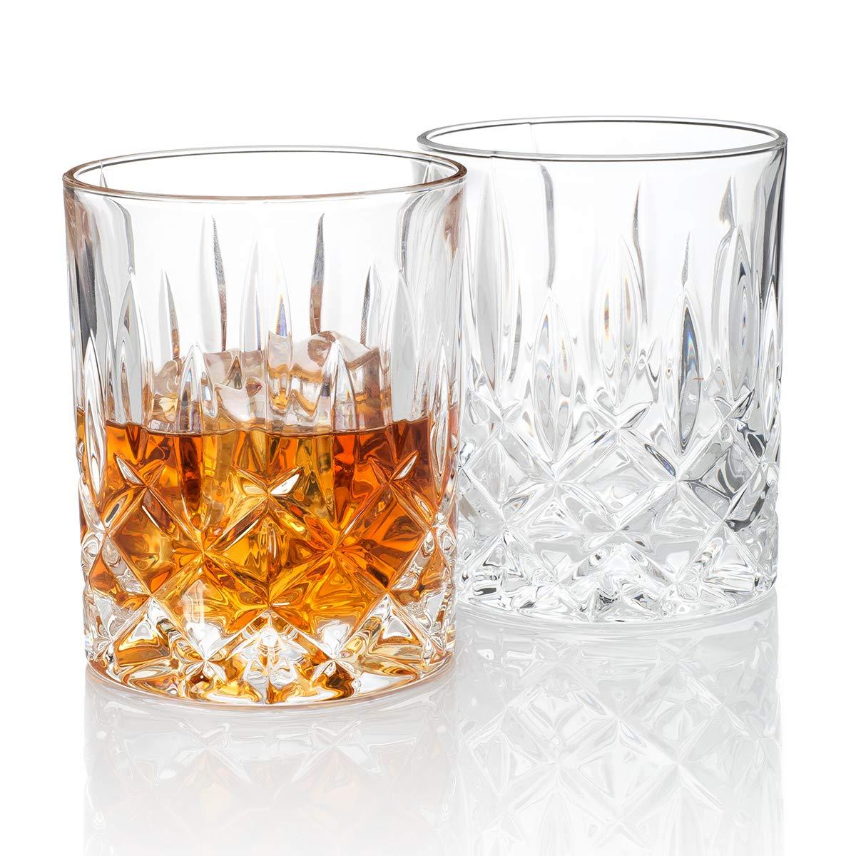 Hotel Astor''Men's Bar'' Crystal Whiskey Glass (Gift Box Set of 2)
