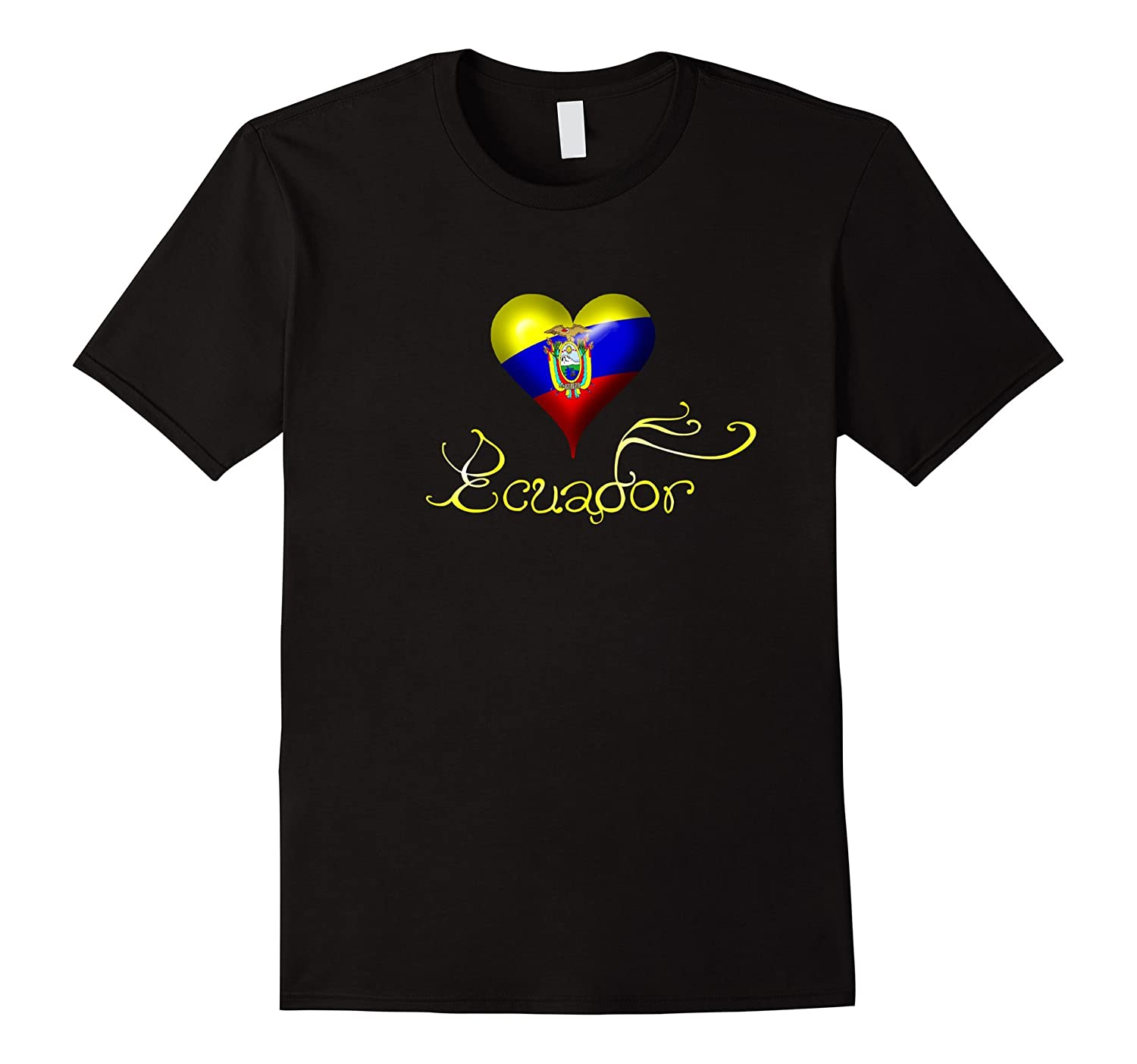 Ecuador T-Shirt Spanish Teacher T-Shirt Ecuador Flag-FL