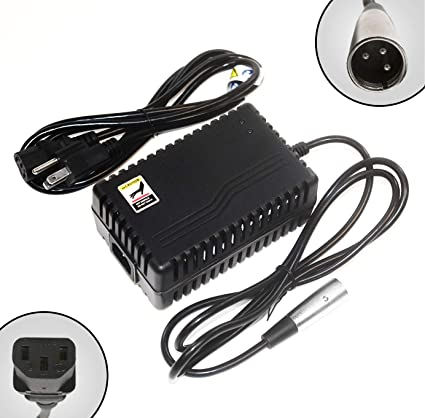 ACI Super Power Battery Charger (2.0A) with XLR Connector for Electric Scooters and Wheelchairs - Fit for Pride Mobility, Jazzy Power Chair, Drive ...