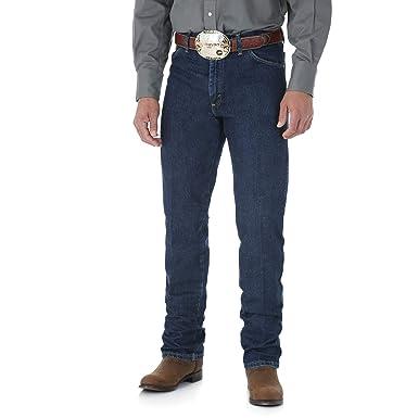 d0fb436ac15 Wrangler Men s George Strait Cowboy Cut Original Fit Jean at Amazon ...