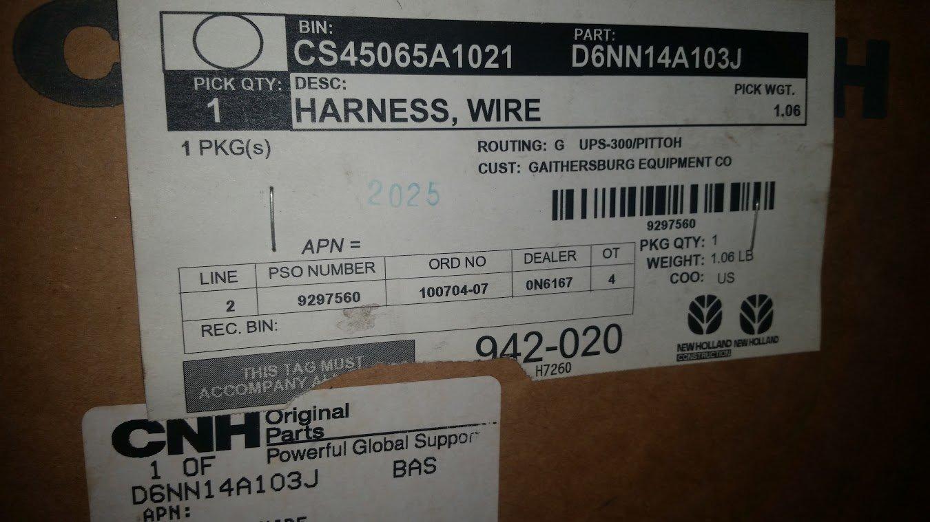 Tractor Ford 8n14401b Wiring Harness Diagram Great Installation Of 4000 Electrical Amazon Com Mt D6nn14a103j 2600 3600 Rh 9n