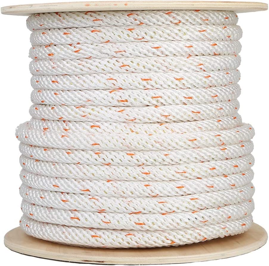 fire Rescue Rope Safety Rope 20mm Polyester Safety Rope Aerial Work Rope DDSS safety rope Safety Rope Safety Rope Color : 20mm, Size : 20m with Steel Wire core //-//