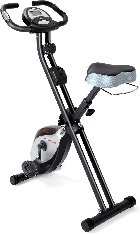 Ultrasport F-Bike y F-Rider, Entrenamiento Fitness, tonificación de Todo el Cuerpo, Cardio Trainer