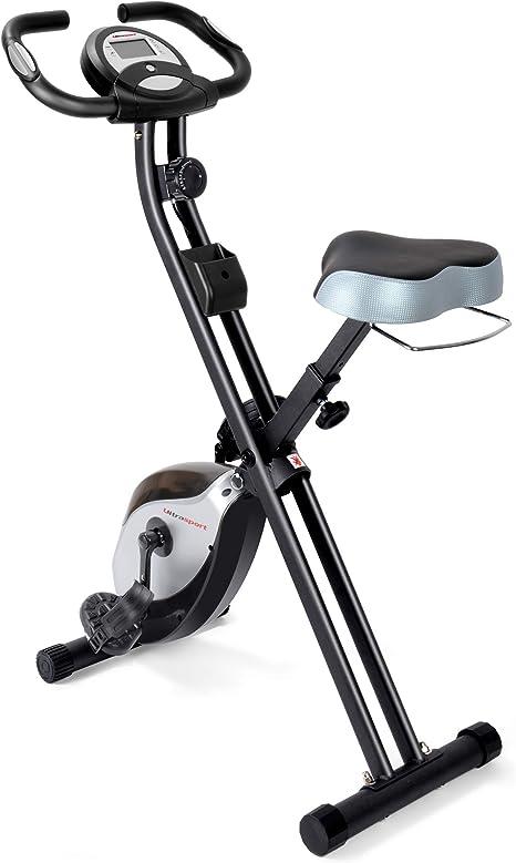 Heimtrainer Handpulssensor Ultrasport F-Bike Fahrradtrainer faltbarer Neu B-Ware