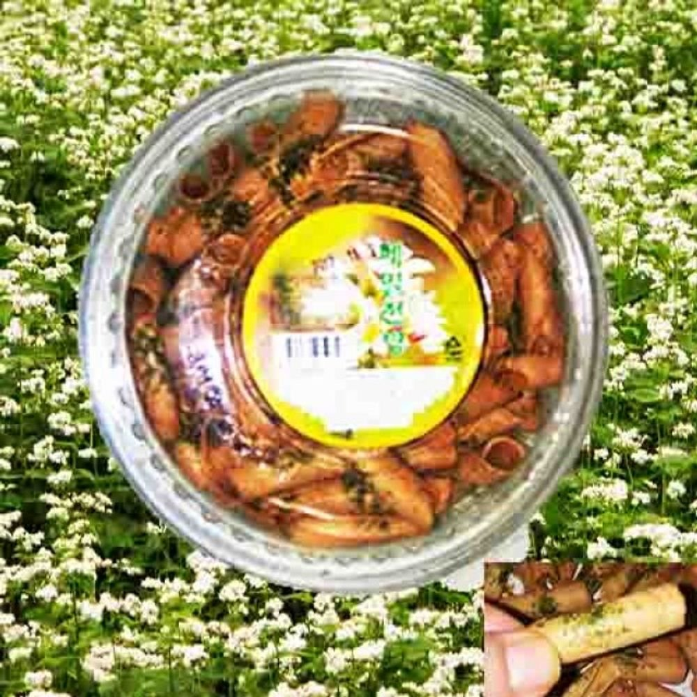 Bongyeongwon Buckwheat Jianbing Snack 220G x 2 Bottle by Bongyeongwon