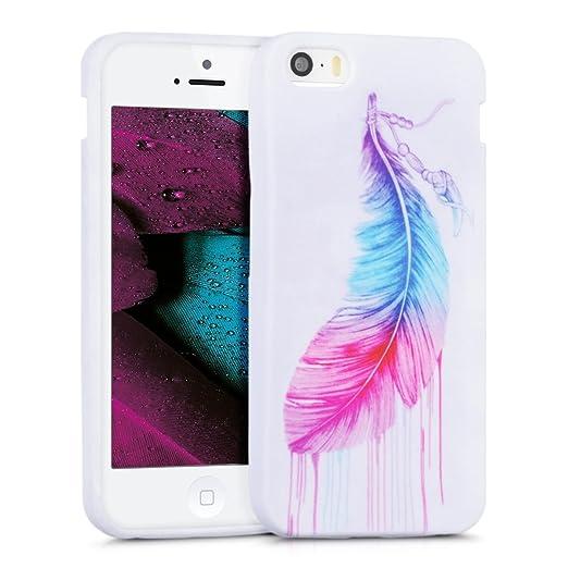 172 opinioni per kwmobile Cover per Apple iPhone SE / 5 / 5S- Custodia in silicone TPU- Back case