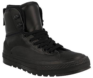56d415c5d293 Converse Chuck Taylor All Star Tekoa Hi Top Black Black White Mens 8
