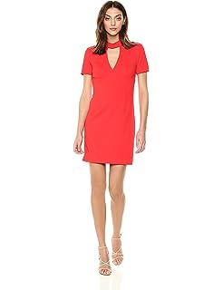 e110e36f6bb Amazon.com  Trina Turk Women s Camari Choker Neck Dress  Clothing