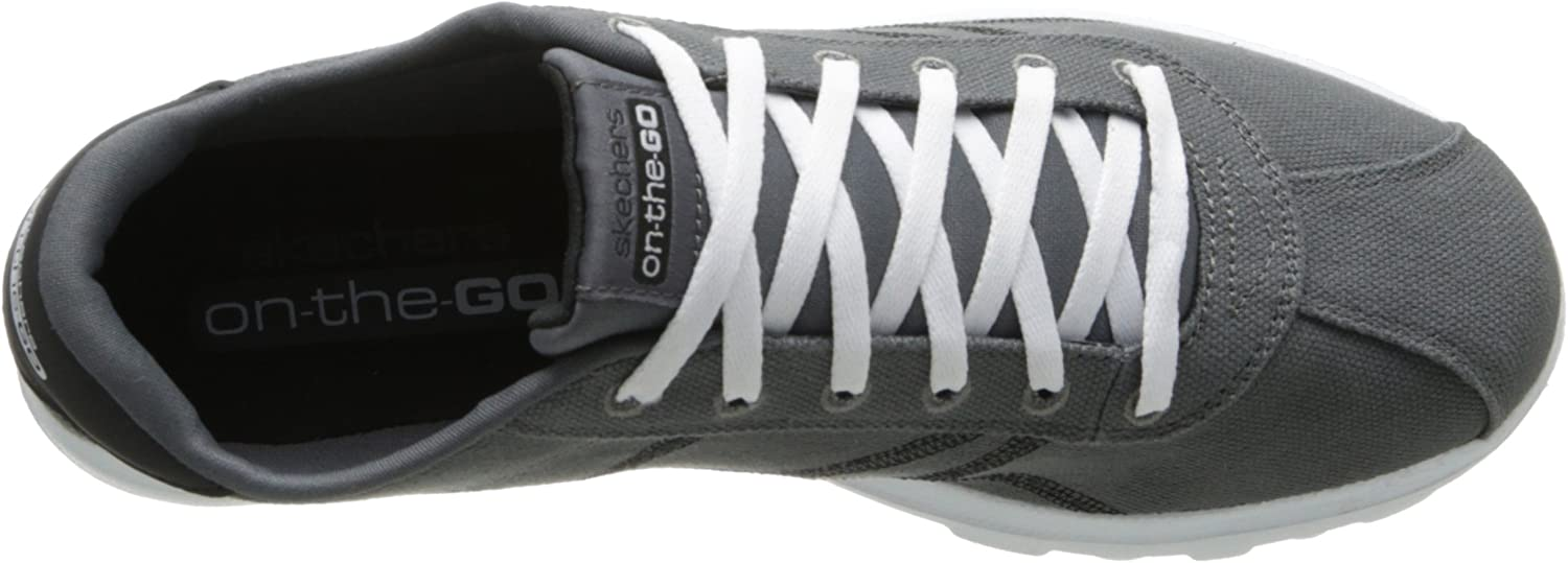 Skechers on the GO Prevail Herren Sneakers, Grau (Gybk VMjZ5