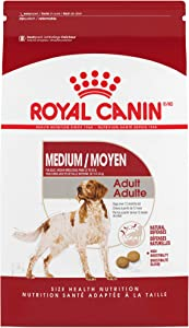 Royal Canin Medium Breed Adult Dry Dog Food, 17 lb. bag