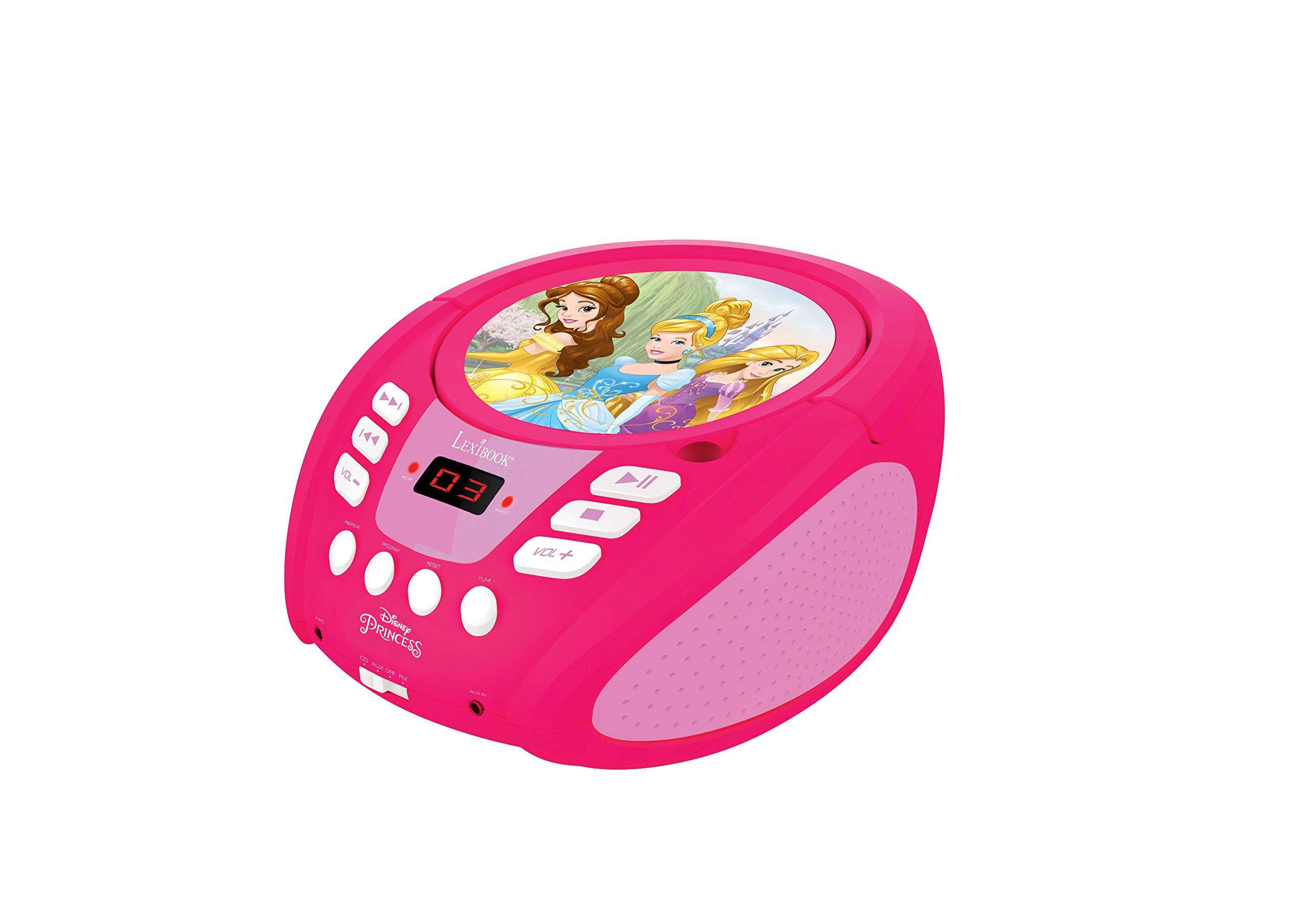 LEXiBOOK Disney Princess Boombox Radio CD Player by LEXiBOOK (Image #3)
